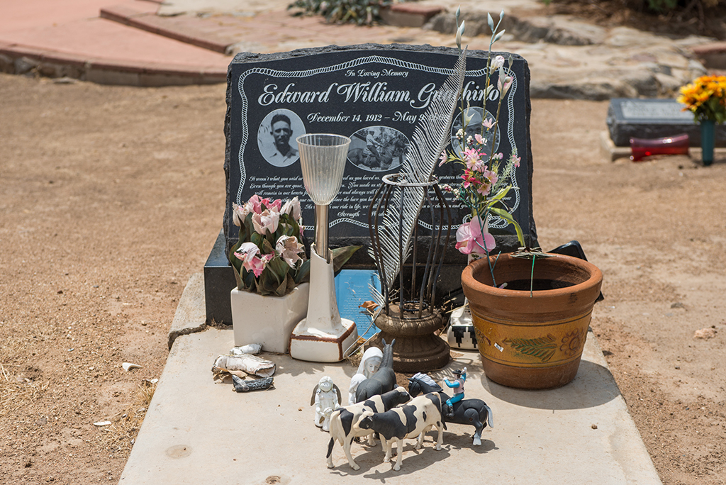 Cemetery, Mission Santa Ysabel Asistencia, August 2014
