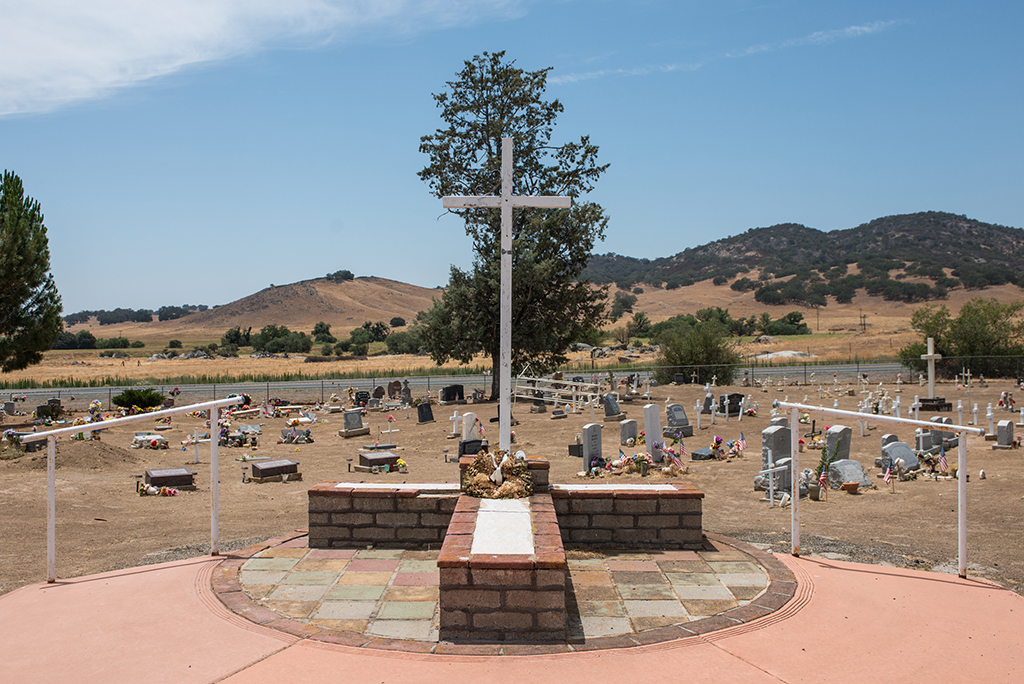 Cemetery, Mission Santa Ysabel Asistencia, July 2014
